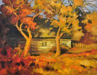 Jesień, olej, płótno, 50x65, 2015